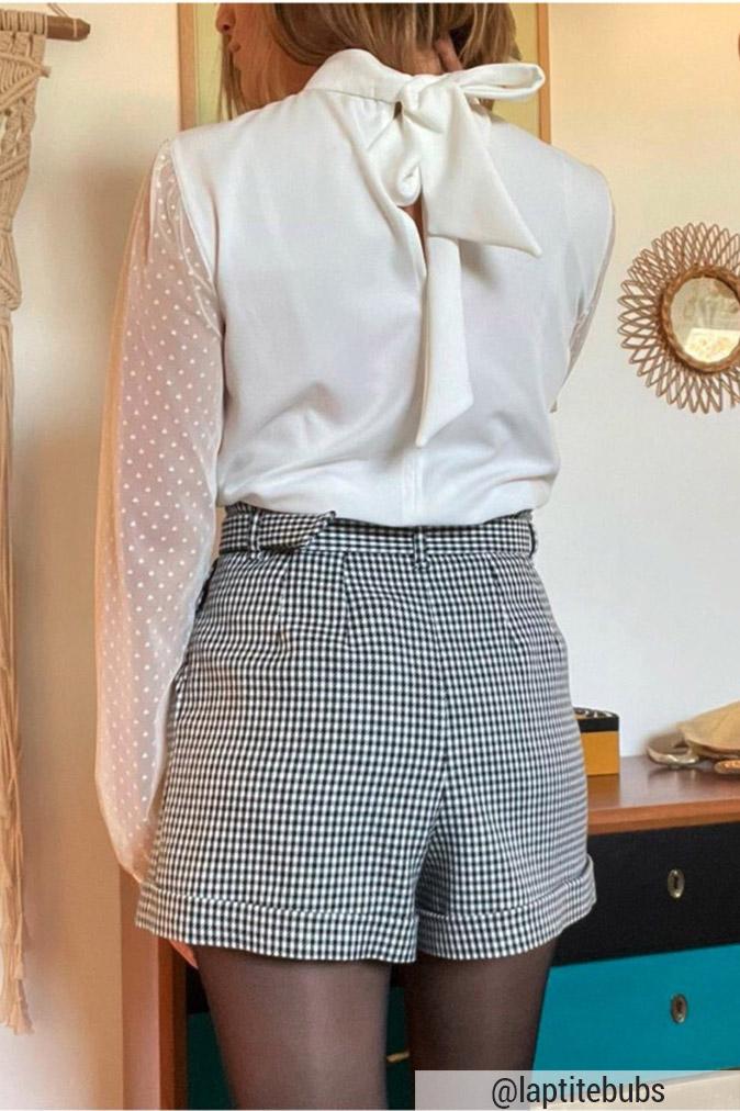 Cha' coud - Patron de couture pdf - blouse hanaé