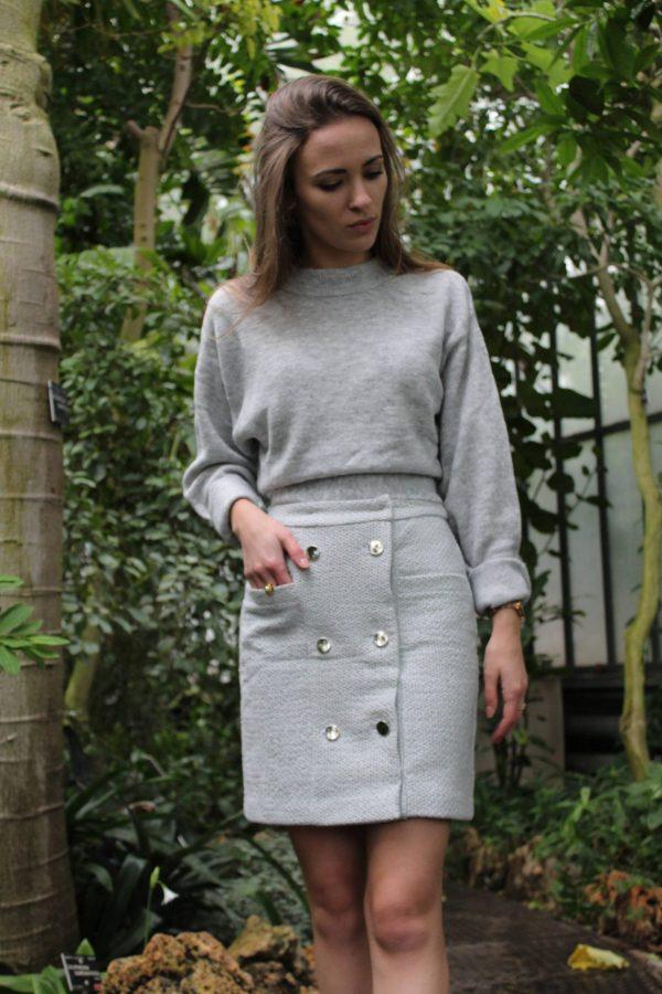 Réalisation du patron de couture la jupe Aliyah de Cha' coud