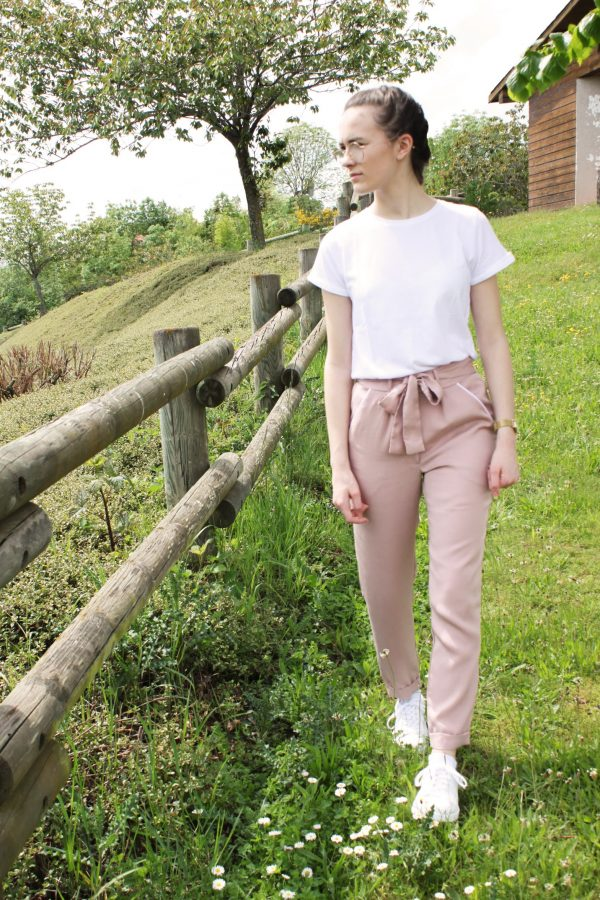 Réalisation du patron de couture le pantalon Sophie de Cha' coud