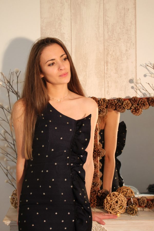 Réalisation du patron de couture la robe Esther de Cha' coud