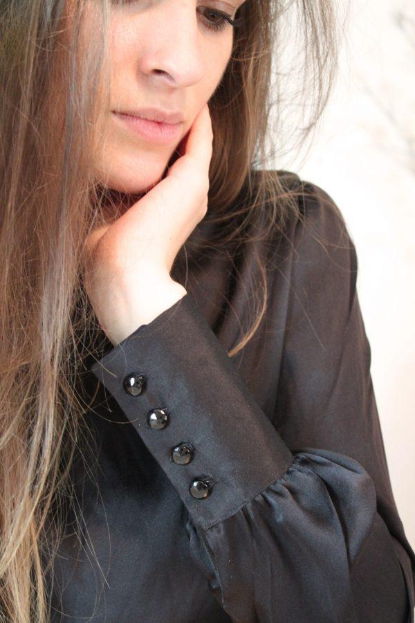 Réalisation du patron de couture la blouse Ysée de Cha' coud