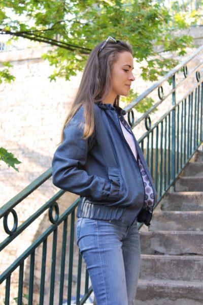 Réalisation du patron de couture la veste Nelly de Cha' coud