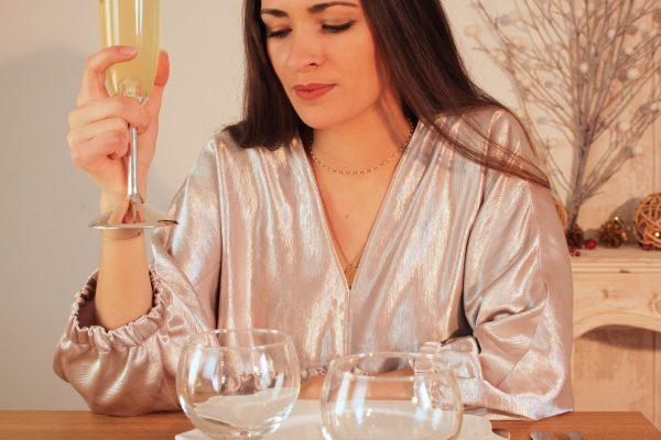 Réalisation du patron de couture de la robe Elaïa de Cha' coud