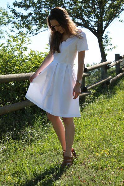 Réalisation du patron de couture la robe Zita de Cha' coud