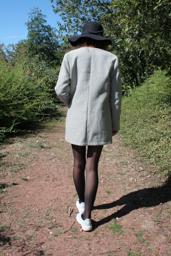 Réalisation du patron de couture la veste Veïa de Cha' coud