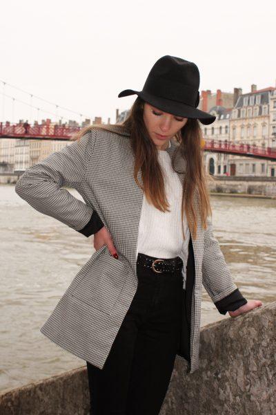 Réalisation du patron de couture de la veste Veïa de Cha' coud