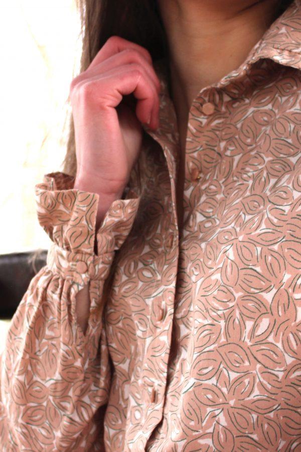 Réalisation du patron de couture de la robe Wallis de Cha' coud