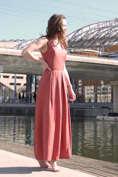 Réalisation du patron de couture de la robe Zita de Cha' coud