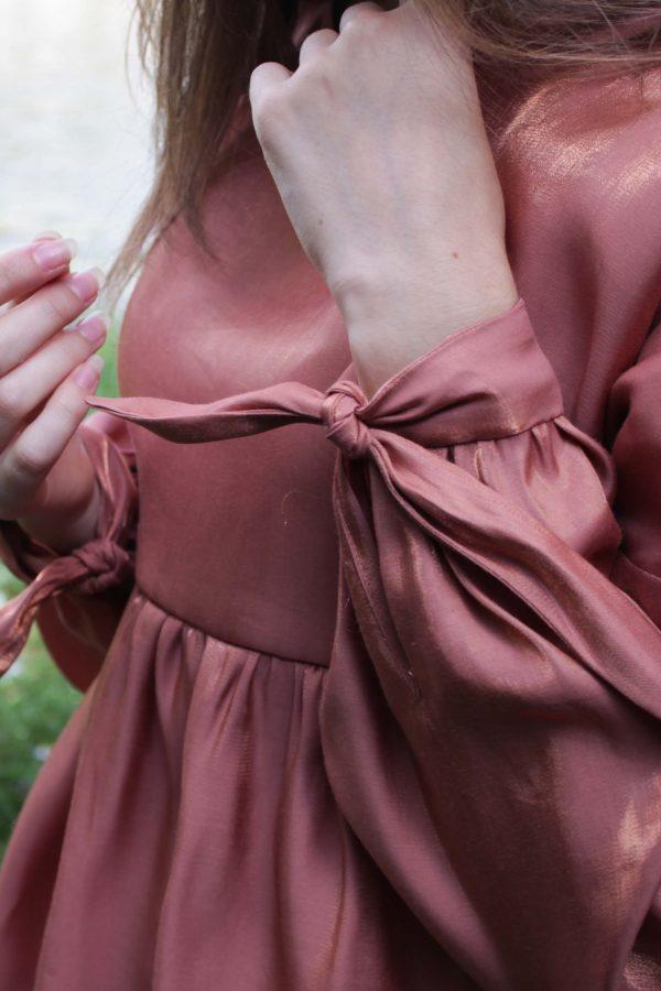 Réalisation du patron de couture de la blouse lehoïa de Cha' coud